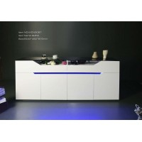 Alpine High Gloss Polyurethane Buffet Sideboard