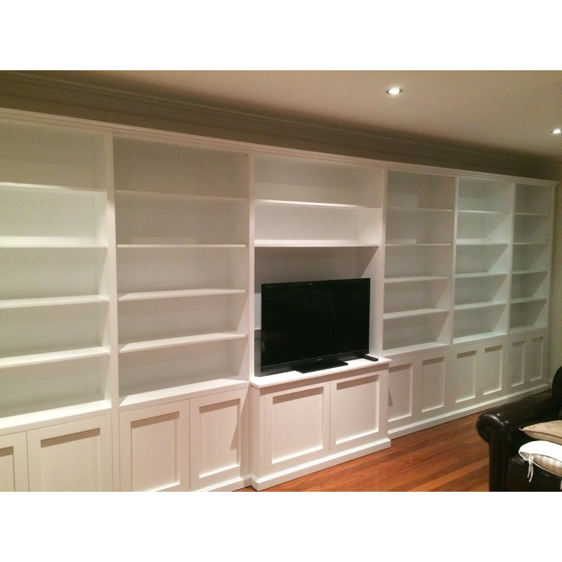 """Canada Bay"" Classic Integrated TV Wall Unit"